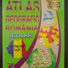 ATLAS GEOGRAFIC ROMANIA SCOLAR - Marius Lungu