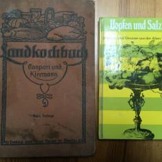 Carte veche de bucate în limba germană (1933) + bonus!