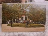 Salutari din Pucioasa - Aleea Parcului cu Muzica., Necirculata, Fotografie