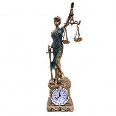 Decoratiune Themis, Zeita Justitiei cu ceas 580E