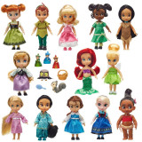 Set 13 mini Papusi Disney Animator Deluxe