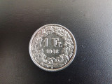 Moneda de 1FR.Elvetia 1916.Stare buna.