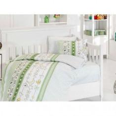 Lenjerie de pat pentru copii, 4 piese, Zen Art Deco