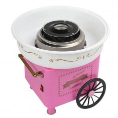 Aparat de facut vata pe bat Candy Maker Pink