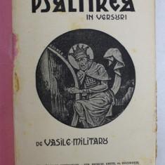 PSALTIREA IN VERSURI de VASILE MILITARU , 1933
