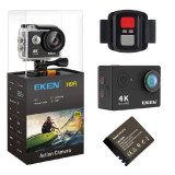 Cumpara ieftin Camera Video Sport Originala EKEN H9R UltraHD 4K WiFi Waterproof 12MP Ecran 2inch Unghi 170 Grade Telecomanda 2.4G