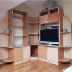 Dormitor adolescent+biblioteca