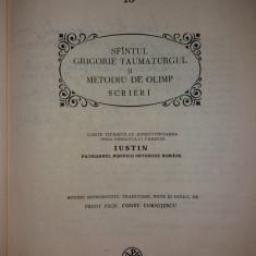 PARINTI SI SCRIITORI BISERICESTI 10 - SF. GRIGORIE TAUMATURGUL - PSB {1984}