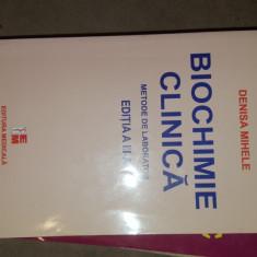 Biochimie clinica / metode de laborator 389pagini- Denisa Mihele