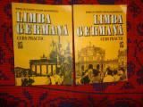 Limba germana curs practic 2 volume Emilia Savin Ioan Lazarescu 882pagini,an1992