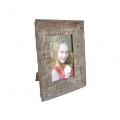 Rama foto lemn bej 10x15 cm