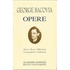 George Bacovia - Opere (Academia Romana)