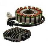Stator generator + Releu incarcare   Yamaha YZF R6 (RJ03) 1999 - 2002  Nou!