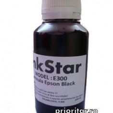 Cerneala EPSON DYE CISS neagra T0611 T0711 T0801 T1281 T1291 ( Refill T-0611...