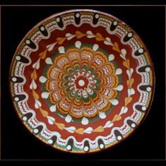 Farfurie, ceramica, lut, 18cm, 016303,