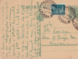 CARTE POSTALA CIRCULATA TR.SEVERIN - CRAIOVA 18 \ 19 NOV.1936