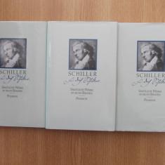 SCHILLER- PHAIDON, VOLUMUL 4,5,6- hartie de tigarete, in germana
