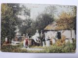 RUSIA IMPERIALA 1912 - UKRAINA - PERSONAJE DE EPOCA - PEISAJ RURAL - MESERII, Circulata, Fotografie
