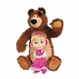 Jucarie Set Papusa Masha si ursul Masha 9301016 Simba