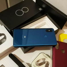 Xiaomi Mi8, RAM 6GB, ROM 256 GB, Global Rom, blue