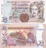Guernsey 5 Pounds 1996 UNC