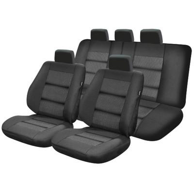 Set huse scaun auto Premium lux negru M01 foto