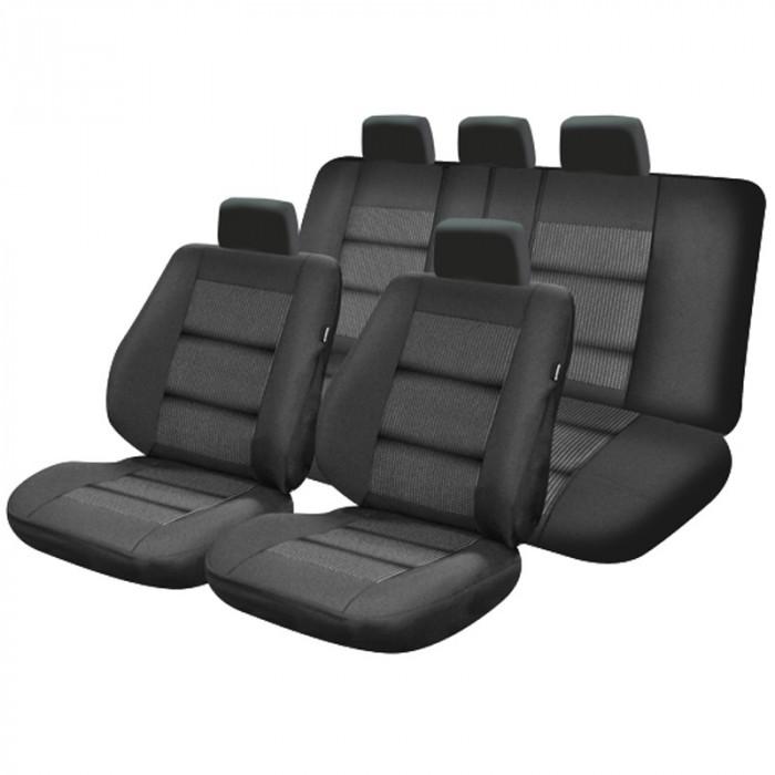 Set huse scaun auto Premium lux negru M01