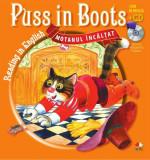 Cumpara ieftin Reading in English. Puss in Boots/Motanul încălţat (Carte + CD)