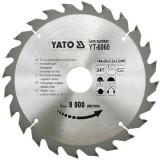 Disc fierastrau wolfram pt lemn 184x24 Yato YT-6060