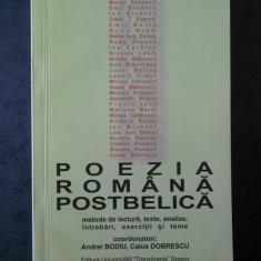 ANDREI BODIU, CAIUS DOBRESCU - POEZIA ROMANA POSTBELIC