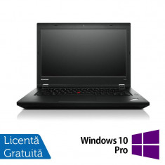 Laptop LENOVO ThinkPad L450, Intel Core i5-5200U 2.20GHz, 8GB DDR3, 120GB SSD, 14 Inch + Windows 10 Pro