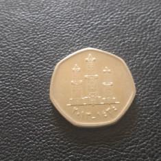 Monedă 50 Fils Emiratele Arabe Unite
