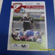 program      CFR  Timisoara   -  ACU  Arad