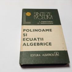 Polinoame si ecuatii algebrice Laurentiu Panaitopol,RF16/3