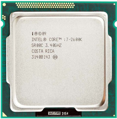 Procesor Intel Quad Core i7-2600K Sandy Bridge, 3.5GHz,turbo 3.8Ghz, socket 1155 foto