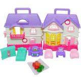 Casuta de plastic cu accesorii - Set 10