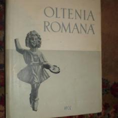 Oltenia romana an 1958/530pag/100figuri/harta - D.Tudor