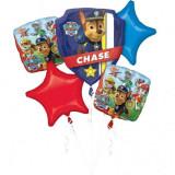 Buchet de baloane din folie Patrula Catelusilor Chase