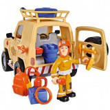 Masina Fireman Sam Tom's 4x4 cu 1 figurina si accesorii