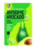 Cumpara ieftin Masca hranitoare W7 Super Skin Superfood Awsome Avocado Face Mask, 18 g