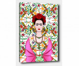 Tablou Frida Bright 100x140 cm - Tablo Center, Multicolor