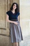 Cumpara ieftin Rochie midi brodata Sanzi 2, L/XL, S/M