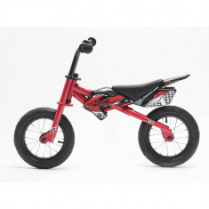 Bicicleta copii fara pedale Kawasaki KTR 12 red by Merida Italy for Your BabyKids