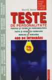 Teste de personalitate - Horst H. Siewert, 2001