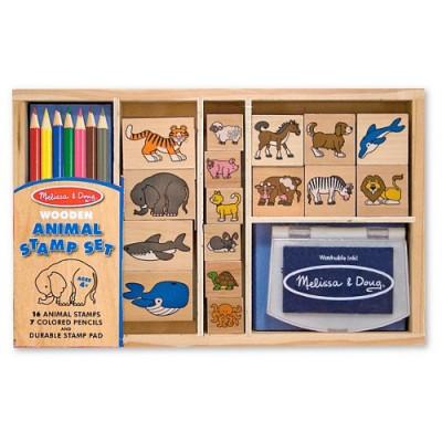 Set Stampile cu Animale foto