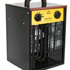 Aeroterma electrica Intensiv PRO 3 kW D 230V Negru Galben