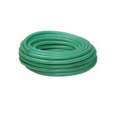 """Furtun absorbtie cu spira verde din PVC 76 mm (3"""") (5m)"""