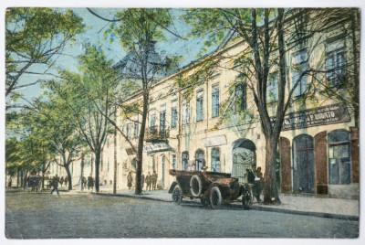Carte postala interbelica Galati - circulata, 1922 (3) foto