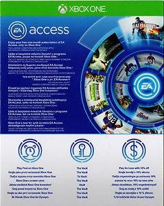 EA Access Pass Code 1 luna foto