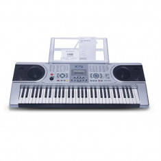 Orga 61 clape MLS-9688, 128 ritmuri, 30 melodii, LCD, boxe incorporate